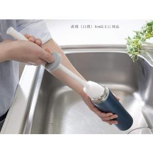 サンコー 水筒 ボトル洗い びっくりフレッシュ びっくりステンレスボトル洗い ホワイト BH-20