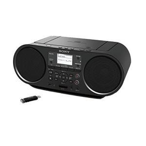 ソニー SONY CDラジオ Bluetooth/FM/AM/ワイドFM対応 語学学習用機能 電池駆動可能 ブラック ZS-RS81BT|benriithiban