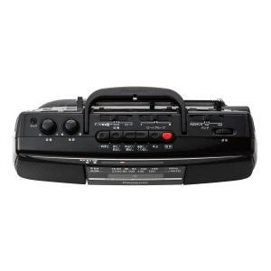 パナソニック ラジカセ FM/AM/ワイドFM対応 ブラック RX-FS27-K|benriithiban