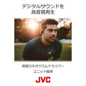 JVC HA-AL102BT-S ワイヤレスイヤホン 耳掛け式/Bluetooth/高音質 シルバー|benriithiban