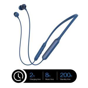 b2400e5f9e IPX5 完全防水 Bluetooth イヤホン 両耳 12時間連続再生 高音質 首掛け スポーツ