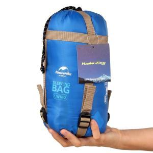 Naturehikeポータブル屋外旅行寝袋、ハイキング封筒寝袋、春、夏、秋のための多機能キャンプ用寝...