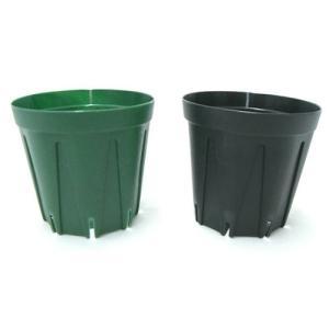 スリット鉢 プラ鉢 6cm モスグリーン 10個|benriithiban