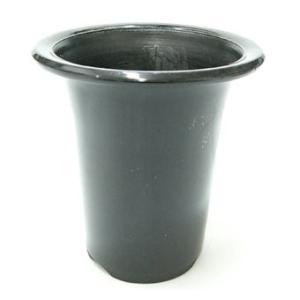 洋蘭プラ鉢 5号 1個 黒ラン鉢 プラ鉢 15cm 薔薇 苗 深鉢 キンリョウヘン 金稜辺 植木鉢 鉢 バラ ばら 薔薇 園芸 庭 ガーデニ|benriithiban