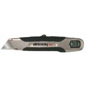 一枚刃収納式カッターナイフです。 グリップは程よい柔らかさで疲れにくい構造です。 固定刃なので厚物の...