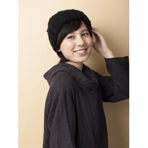 医療用 人毛帽子用付け毛ショート(インナーキャップ付き)
