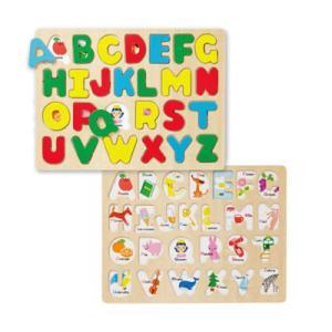 知育玩具 3歳 木製 知育パズル ABC パズル アルファベット|berryscosme