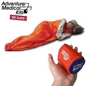 ADVENTURE MEDICAL KITS(アドベンチャーメディカルキット) SOL Heatsheets Emergency Bivvy SOLヒートシーツエマージェンシーヴィヴィ 一人用緊急シェルター beside-mountain