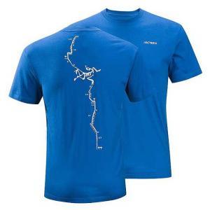 Arc'teryx(アークテリクス) Route A T-Shirt(ルートAティーシャツ)  Miro Blue(ミロブルー)|beside-mountain