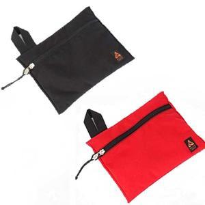 MysteryRanch(ミステリーランチ) FLAT BAG LARGE/フラットバッグ ラージ BLACK(ブラック)/RED(レッド)LARGE(29cm×36cm) beside-mountain