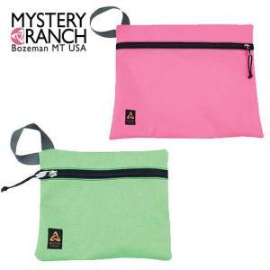 MysteryRanch(ミステリーランチ) FLAT BAG LARGE/フラットバッグ ラージ PINK(ピンク)/TOXIC GREEN(トキシックグリーン)LARGE(31cm×36cm) beside-mountain