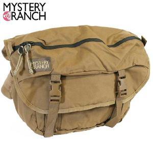 ミステリーランチ MysteryRanch INVADER/インベーダーメッセンジャーバッグ COYOTE(コヨーテ)|beside-mountain