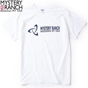 MysteryRanch(ミステリーランチ) SPINNER-LOGO-TEE/スピナーロゴTシャツ WHITE/ホワイト Lサイズ|beside-mountain