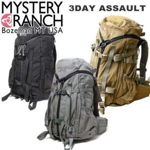ミステリーランチ MysteryRanch 3DAY ASSAULT(3デイアサルトバックパック) BLACK(ブラック)/COYOTE(コヨーテ)/FOLIAGE(フォレッジ) |beside-mountain