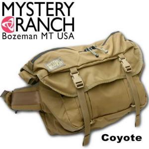 ミステリーランチ MysteryRanch OUTSIDER/アウトサイダーメッセンジャーバッグ Coyote(コヨーテ)|beside-mountain