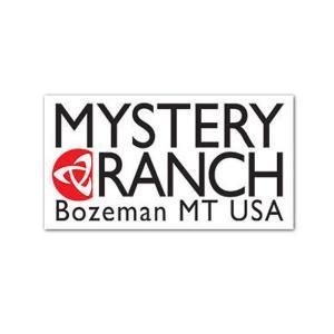 MysteryRanch (ミステリーランチ) MYSTERY RANCH STICKER ミステリーランチ ステッカー WHITE/ホワイト  beside-mountain