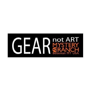 MysteryRanch (ミステリーランチ) MYSTERY RANCH STICKER ミステリーランチ ステッカー GEAR not ART beside-mountain