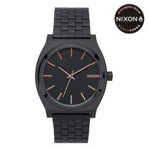 ニクソン (NIXON) 腕時計 THE TIME TELLER All BLACK/ROSE GOLD(タイムテラー オールブラック/ローズゴールド) NA045957-00|beside-mountain