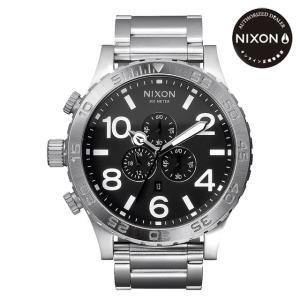 ニクソン (NIXON) 腕時計 THE 51-30 CHRONOクロノ BLACK NA083000-00 メンズ |beside-mountain