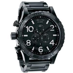 ニクソン (NIXON) 腕時計 THE 51-30 CHRONOクロノ  ALL BLACK NA083001-00 メンズ|beside-mountain