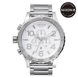 ニクソン (NIXON) 腕時計 THE 51-30 CHRONOクロノ  HIGH POLISH/WHITE NA083488-00 メンズ|beside-mountain