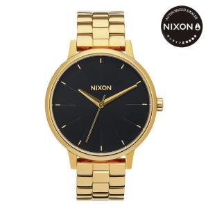 ニクソン (NIXON) 腕時計 THE KENSINGTON All GOLD/BLACK SUNRAY (ケンジントン オールゴールド/ブラックサンレイ) NA0992042-00|beside-mountain