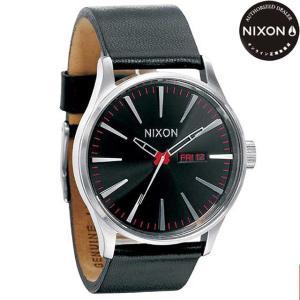 ニクソン (NIXON) 腕時計 THE SENTRY LEATHER BLACK(セントリー レザー ブラック) NA105000-00|beside-mountain