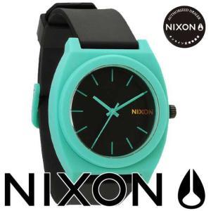 ニクソン (NIXON) 腕時計 THE TIME TELLER P BLACK/TEAL(タイムテラー P ブラック/ティール) NA1191060-00|beside-mountain