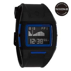 ニクソン (NIXON) 腕時計 THE LODOWN II BLACK/BLUE メンズ デジタル (ローダウン2 ブラック/ブルー) NA289018-00|beside-mountain