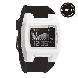 ニクソン (NIXON) 腕時計 THE LODOWN II ALL WHITE/BLACK メンズ デジタル (ローダウン2 ホワイト/ブラック) NA289127-00|beside-mountain