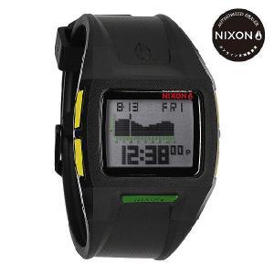 ニクソン (NIXON) 腕時計 THE LODOWN II BLACK RASTA デジタル (ローダウン2 ブラック/ラスタ) NA2891329-00|beside-mountain