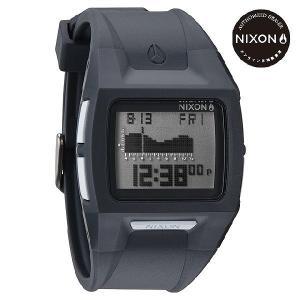 ニクソン (NIXON) 腕時計 THE LODOWN II ALL CHARCOAL メンズ デジタル (ローダウン2 チャコール) A289147-00|beside-mountain