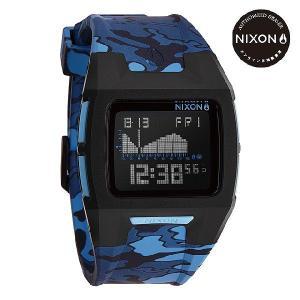 ニクソン (NIXON) 腕時計 THE LODOWN II BLACK/BLUE CAMO デジタル (ローダウン2 ブラック/ブルーカモ) NA2891628-00|beside-mountain