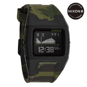 ニクソン (NIXON) 腕時計 THE LODOWN II BLACK/GREEN CAMO デジタル (ローダウン2 ブラック/グリーンカモ) NA2891629-00|beside-mountain