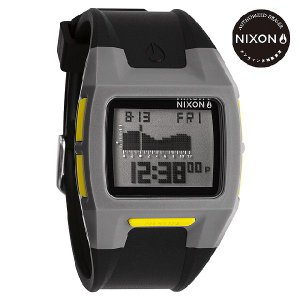 ニクソン (NIXON) 腕時計 THE LODOWN II GRAY/BLACK/YELLOW デジタル (ローダウン2 グレイ/ブラック/イエロー) NA2891687-00|beside-mountain