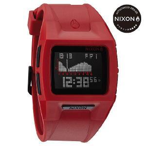 ニクソン (NIXON) 腕時計 THE LODOWN II RED メンズ デジタル (ローダウン2 レッド) NA289200-00|beside-mountain