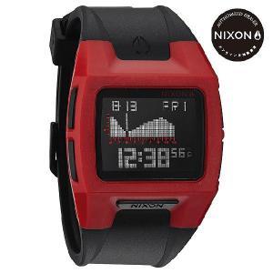 ニクソン (NIXON) 腕時計 THE LODOWN II RED/BLACK デジタル (ローダウン2 レッド/ブラック) NA289209-00|beside-mountain