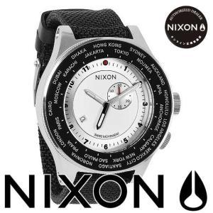 ニクソン (NIXON) 腕時計  THE PASSPORT(パスポート) ホワイト/シルバー/ネイビー NA3211433-00 beside-mountain