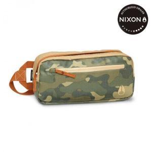 NIXON(ニクソン) FOUNTAIN SLING PACK II (ファウンテンスリングパックツー) 4.3L Khaki/Surplus Camo(カーキ/サープラスカモ)|beside-mountain