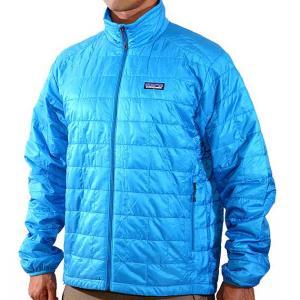 patagonia(パタゴニア) Nano Puff Jacket / Larimar Blue ナノパフジャケット男性用 ブルー 中綿ジャケット|beside-mountain