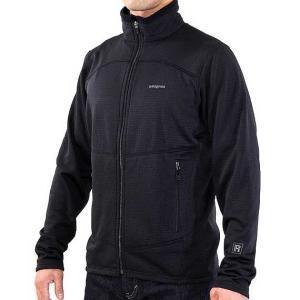 patagonia(パタゴニア) R1 Full-Zip Jacket Men's BLACK R1フルジップジャケット 男性用 黒 フリースジャケット|beside-mountain