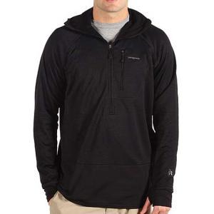 patagonia(パタゴニア) R1 Hoody Men's BLACK R1フーディー男性用 黒 フリースジャケット|beside-mountain