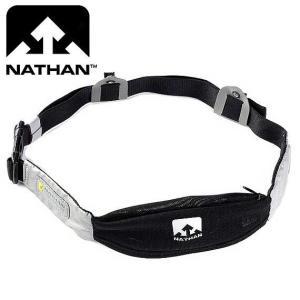 NATHAN(ネイサン) リフレクトシャドーパック ウェストパック レースクリップ付き/ブラック|beside-mountain