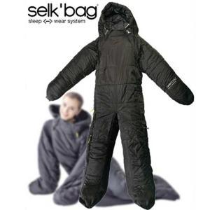 Selk'bagセルクバッグ 歩ける スリーピングバッグ selk'bag 4G ブラック 正規品|beside-mountain