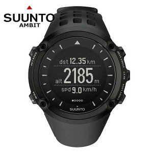 SUUNTO(スント) AMBIT BLACK/アンビット ブラック 腕時計 2年保証・日本語説明書付|beside-mountain