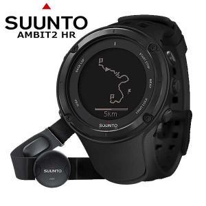 SUUNTO(スント) AMBIT2 HR BLACK/アンビット2HR ブラック 2年保証・日本語説明書付|beside-mountain