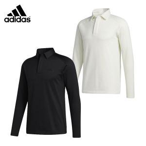 adidas アディダス メンズ ブラッシュドワッフル 長袖 ボタンダウン シャツ INS65 ゴルフ 20FW 秋冬 GOLF ポロシャツ FS6850 FS6849|bespo