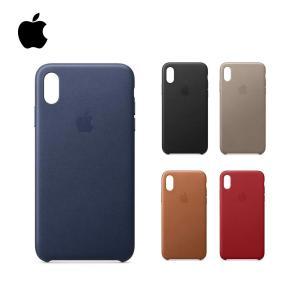 Apple アップル 純正 iPhone用 スマホケース Leather Case レザーケース iPhone X XS XS MAX アイフォン あいふぉん レザー|bespo