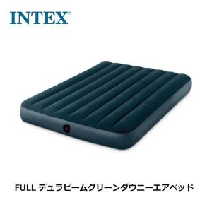 INTEX インテックス エアーベッド フルサイズ 幅137×長さ191×高さ25cm 64733 キャンプ アウトドア 車中泊 並行輸入品|bespo