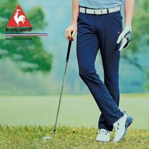 セール le coq sportif メンズ ゴルフ パンツ 19SS QGMNJD14 4WAY ストレッチ ベンチレーション ステップアップパンツ ルコック ホワイト 送料無料 bespo